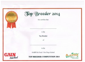 top breeder cert